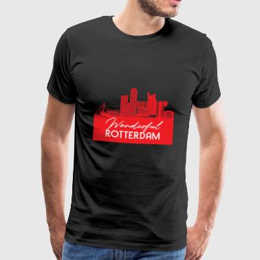 Rotterdam - Netherlands - Holland - Randstad - Men's Premium T-Shirt