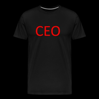 CEO - Premium T-skjorte for menn