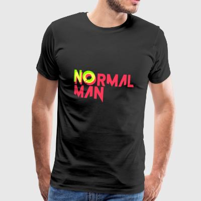 Ingen normal - Herre premium T-shirt
