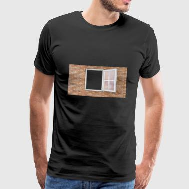 building house homes architektur haus gebaeude357 - Männer Premium T-Shirt