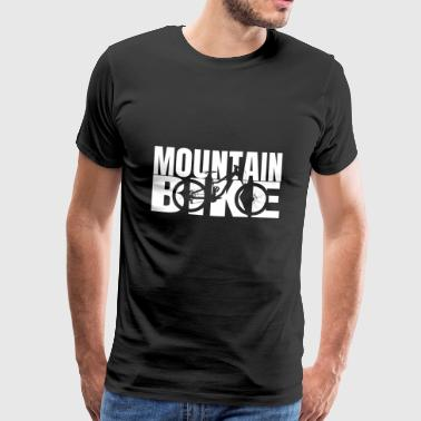Mountain Bike MTB Downhill - Premium-T-shirt herr