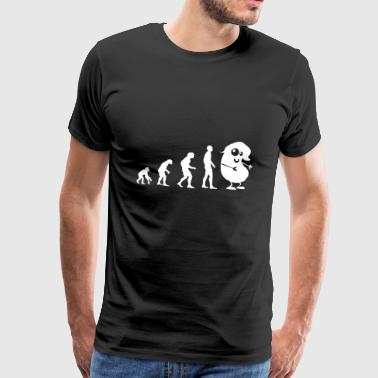 Evolution bean - Men's Premium T-Shirt