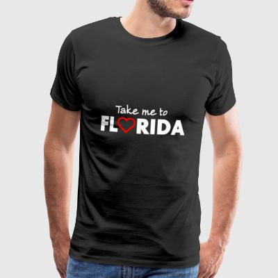 FLORIDA - USA - Premium T-skjorte for menn