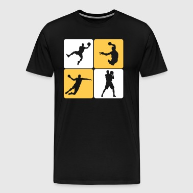 Handball Player - Premium-T-shirt herr
