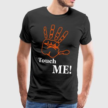 Palm touch me! - Premium-T-shirt herr