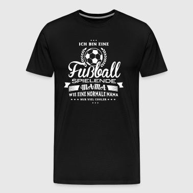Football Shirt-Cool Mama - Men's Premium T-Shirt