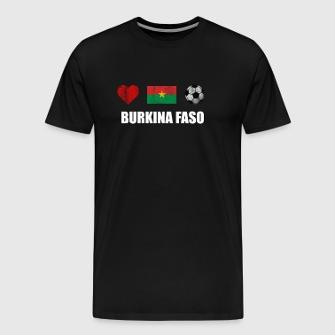 Burkina Faso Football Shirt - Burkina Faso de football - T-shirt Premium Homme