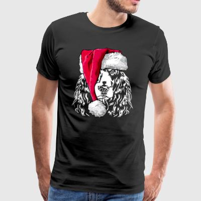 COCKER SPANIEL Christmas gift - Men's Premium T-Shirt