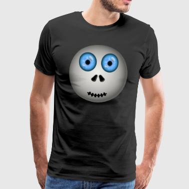 ball balue eyes - Men's Premium T-Shirt