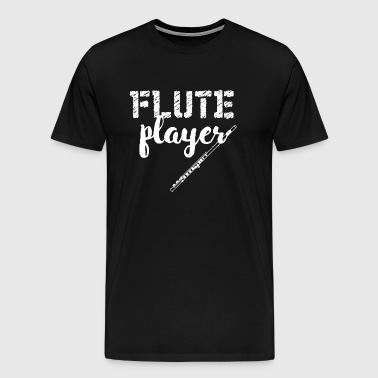 Flute Player - Men's Premium T-Shirt
