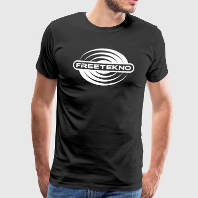 Freetekno 23 - Men's Premium T-Shirt