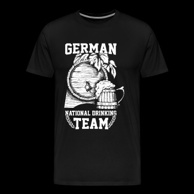Deutsches National Sauf Team - Männer Premium T-Shirt