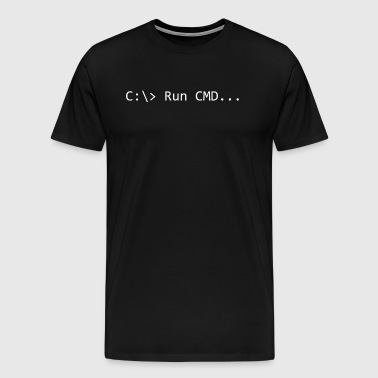 Run CMD Prompt - Men's Premium T-Shirt