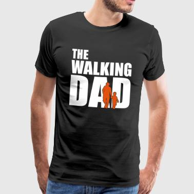 The Walking Fars dag gave søn - Herre premium T-shirt