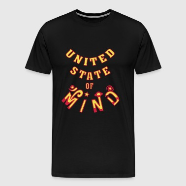 United State of Mind - Premium-T-shirt herr