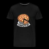Pizza Partner Freundin Liebe Valentinstag Geschenk   Männer Premium T Shirt