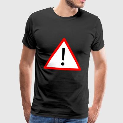 Attention! - T-shirt Premium Homme