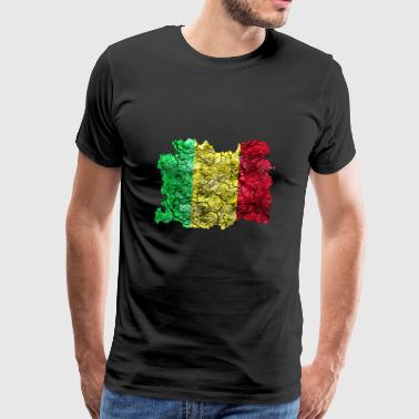 Mali vintage flag - Men's Premium T-Shirt