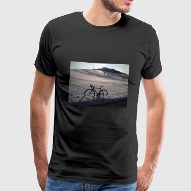 winter Trail - Mannen Premium T-shirt