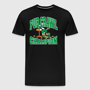 Irish Pub Crawl-Champion - Männer Premium T-Shirt