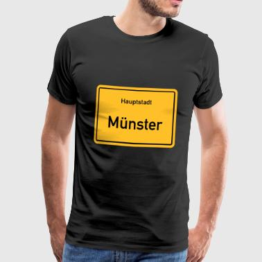 Capital M nster - T-shirt Premium Homme