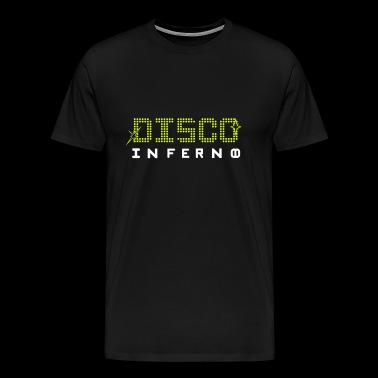 Disco Inferno - Men's Premium T-Shirt
