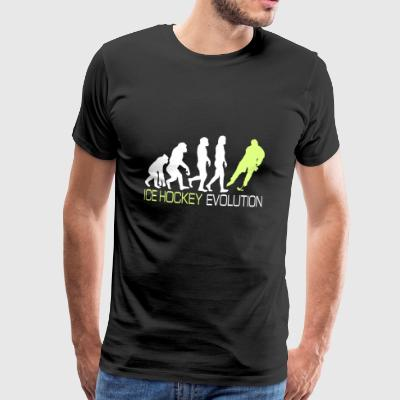 Evolution - Ice Hockey T-shirt Gift - Mannen Premium T-shirt