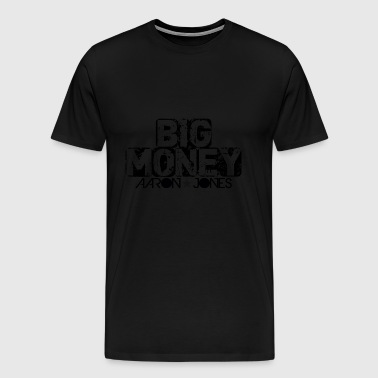 Big Money Aaron Jones - Premium-T-shirt herr
