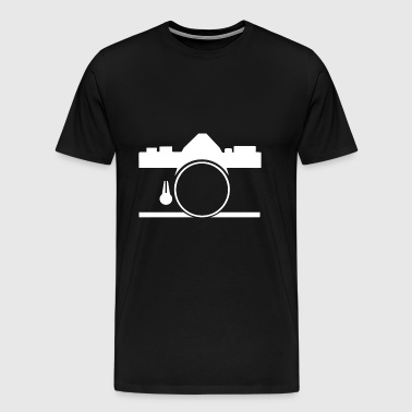 Vintage Room OM film slr - Men's Premium T-Shirt