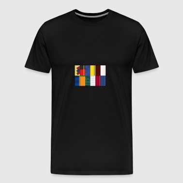 Jersey concept design Worldcup - Men's Premium T-Shirt