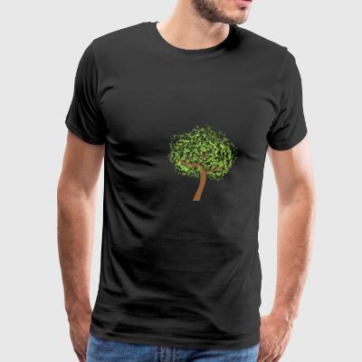 TREE Art - Premium-T-shirt herr