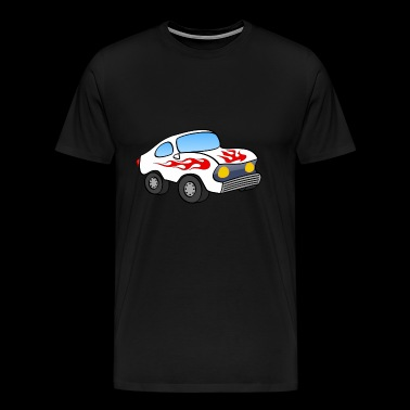 Stock car - T-shirt Premium Homme