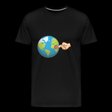 Reset the world! Reset the world! restart - Men's Premium T-Shirt