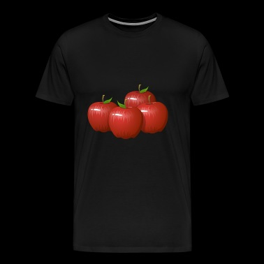 Apple - Apples - Red - Men's Premium T-Shirt