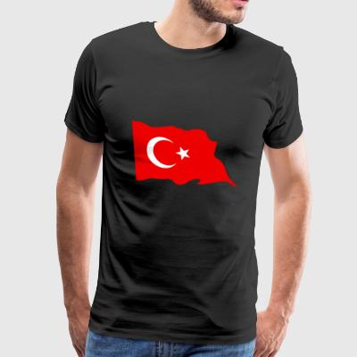 Turkey flag - Men's Premium T-Shirt