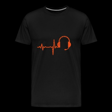 Gift heartbeat call center - Men's Premium T-Shirt
