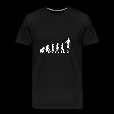 Evolution cadeau monocycle Monocycle monocycle - T-shirt Premium Homme
