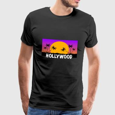 HOLLYWOOD Shirt - Mannen Premium T-shirt