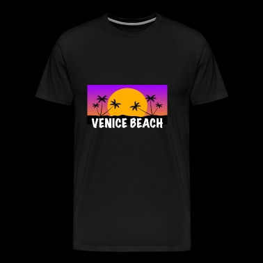 Venice Beach - Premium T-skjorte for menn
