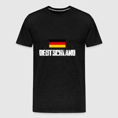 Allemagne flag football - T-shirt Premium Homme