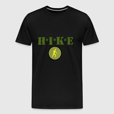 HIKE Hiking Hiker - Men's Premium T-Shirt