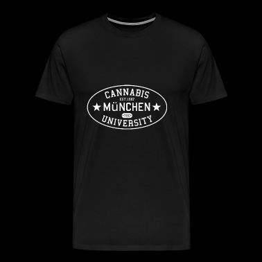 Cannabis University / University / University Munich - Men's Premium T-Shirt
