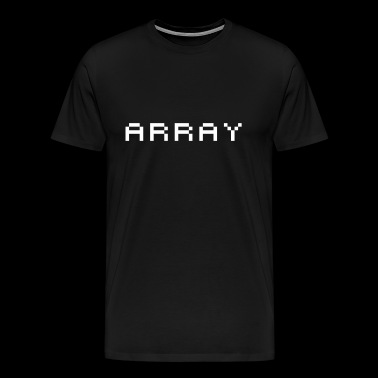 array - Men's Premium T-Shirt