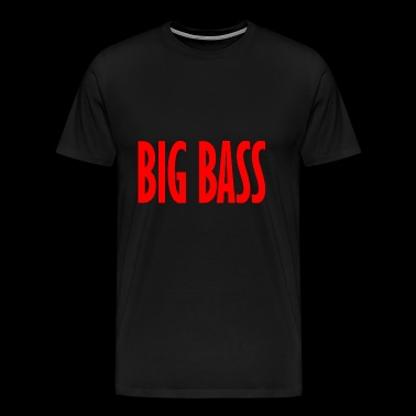 big bass line - Men's Premium T-Shirt