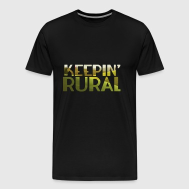 Farmer / Farmer / Farmer: Rural Keepin' - Men's Premium T-Shirt