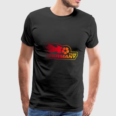 Team Duitsland - Nationale kleuren - Mannen Premium T-shirt