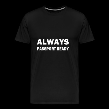passport - Men's Premium T-Shirt