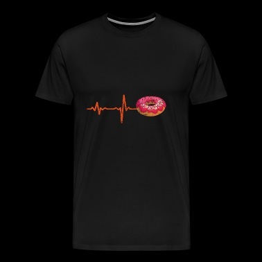 Gift Heartbeat Muffin - Men's Premium T-Shirt