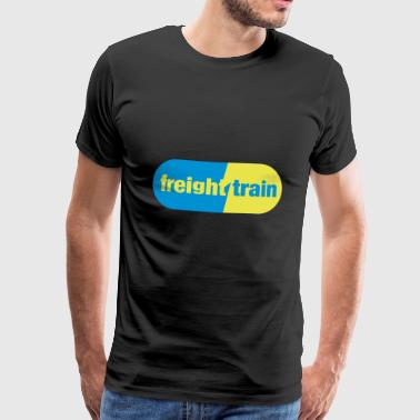 Freight Train - Men's Premium T-Shirt