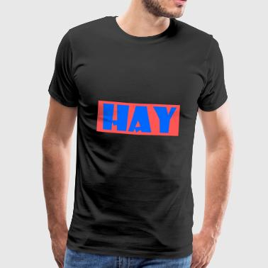 HAY Design for Merry and Gifts - Men's Premium T-Shirt